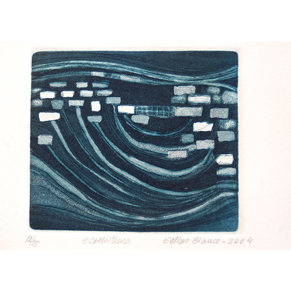 Ecossistema, 2004, Água forte e água tinta, 10,5 x 12cm