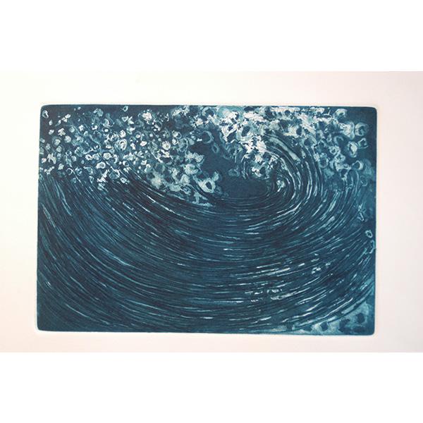 Recurso finito II, 2004, Água forte e água tinta, 20 x 29cm